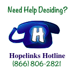 Hopelinks Hotline: (866) 806-2821